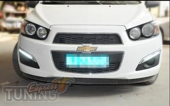 Дневные ходовые огни Шевроле Авео Т300 (ДХО для Chevrolet Aveo T