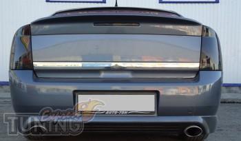 Пластиковый спойлер сабля на Opel Vectra C седан (модель 2002-20
