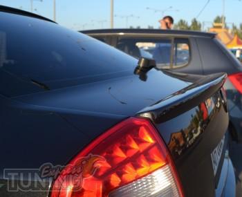 Купить лип спойлер на крышку багажника Шкода Октавия А5 (фото сп