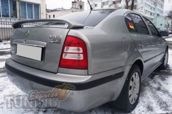 Спойлер на багажник Шкода Октавия А4 RS (задний спойлер Rs для S