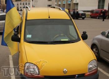 Рейлинги на автомобиль Рено Кангу 1 (рейлинги Renault Kangoo 1 C