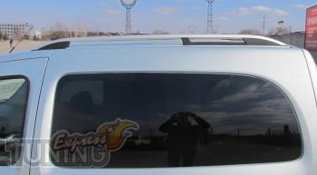 Рейлинги на Рено Кангу 2 (рейлинги Renault Kangoo 2 Crown.алюмин