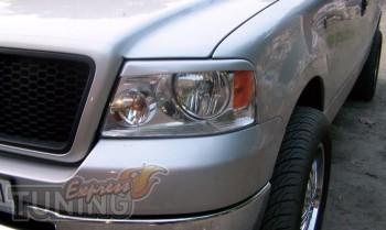 Купить реснички на передние фары Форд F-150