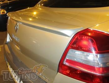 Спойлер Рено Меган 2 седан с 2002-2008 года выпуска
