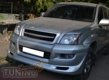Купить решетку на Тойоту Прадо 120 (Киев, ExpressTuning)