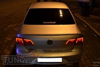 Задний лип спойлер на Volkswagen Passat B7 (купить в ЭкспрессТюн