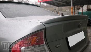 Спойлер на багажник Субару Легаси Б4 (лип спойлер на Subaru Lega