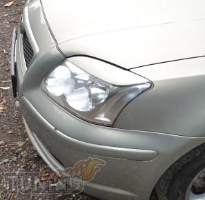 Купить реснички на фары Тойота Авенсис 2 (ЭкспрессТюнинг, фото)
