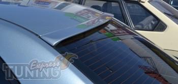 Спойлер на заднее стекло Тойота Авенсис 2 (козырек задний Toyota
