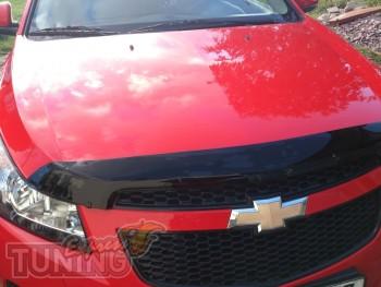 Мухобойка капота Chevrolet Cruze