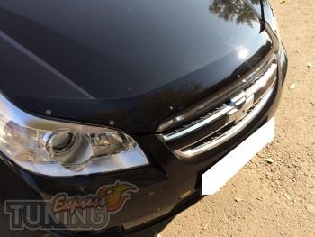 Мухобойка капота Шевроле Эпика (дефлектор на капот Chevrolet Epi