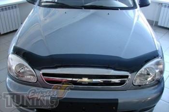 Мухобойка капота Шевроле Ланос (дефлектор на капот Chevrolet Lan