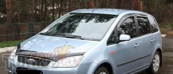 Мухобойка капота Форд С-Макс 1 (дефлектор на капота Ford C-Max 1