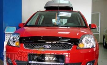 Мухобойка капота Форд Фиеста 5 (дефлектор на капот Ford Fiesta M