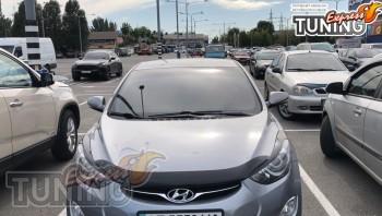 дефлектор на капот Hyundai Elantra 5 MD