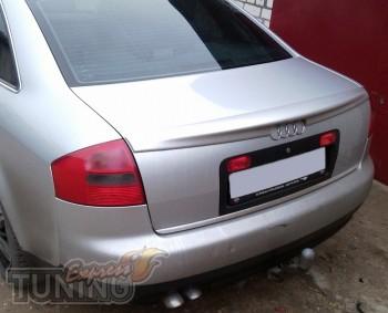 Купить спойлер на крышку багажника Audi A6 C5 магазин тюнинга