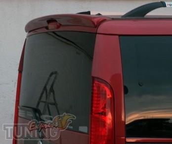 Спойлер для Fiat Doblo 1 (козырек на Фиат Добло 1 )