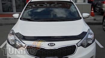 дефлектор на капот Kia Cerato 3 sedan