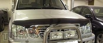 Дефлектор на капот Лексус ЛХ 470 (мухобойка капота Lexus LX470)
