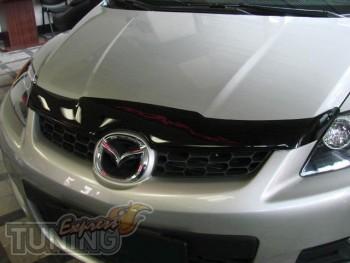 (дефлектор на капот Mazda CX-7)