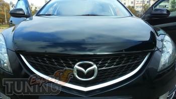 дефлектор на капот Mazda 6 GH)