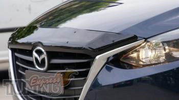 Дефлектор капота Mazda 6 GJ оригинал SIM мухобойка