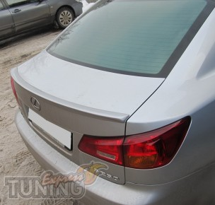 Накладка спойлер на крышку багажника Lexus Is250 (фото)