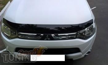 дефлектор на капот Mitsubishi Outlander 3