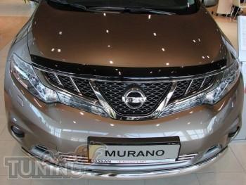 дефлектор на капот Nissan Murano Z51)