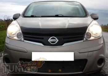 дефлектор на капот Nissan Note 1