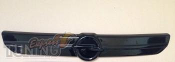 Зимняя решетка радиатора Опель Виваро 1 (глянцевая решетка Opel