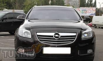 Дефлектор капота Опель Инсигния 1 (мухобойка Opel Insignia 1)