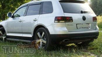 Декоративные задние реснички на стопы Volkswagen Touareg 1 (тюни