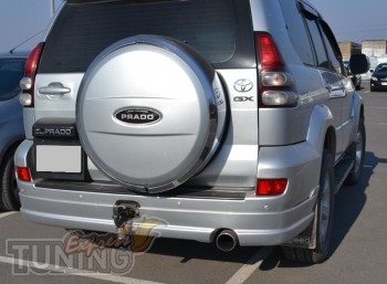 Купить обвес на Тойоту Прадо 120 (накладки на бампер Toyota Prad