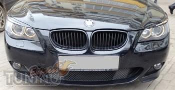 Реснички для фар Bmw 5 E60 тюнинг оптики авто