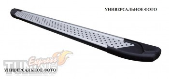 Пороги Тойота Хайлендер 3 (пороги для Toyota Highlander 3 стиль