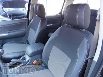 Чехлы Тойота Хайлюкс (авточехлы на сиденья Toyota Hilux)