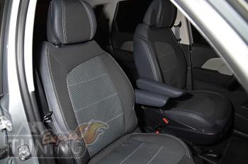 Чехлы Ситроен C4 Пикассо (авточехлы на сиденья Citroen C4 Picass