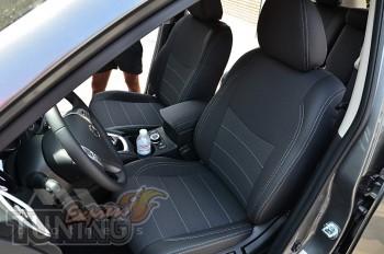 Чехлы Ниссан Х-Трейл Т32 (авточехлы на сиденья Nissan X-Trail T3