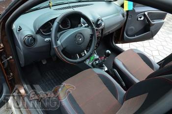 заказать чехлы Renault Duster FL
