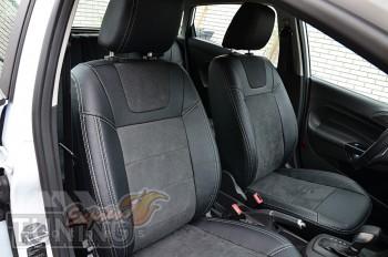 Автомобильные чехлы Форд Фиеста 6 (чехлы Ford Fiesta VI)