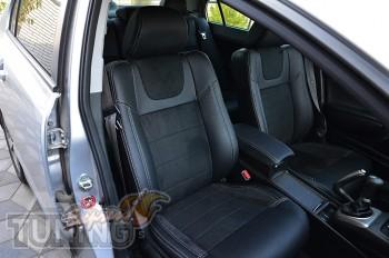 Автомобильные чехлы в салон Honda Civic 8 4D)