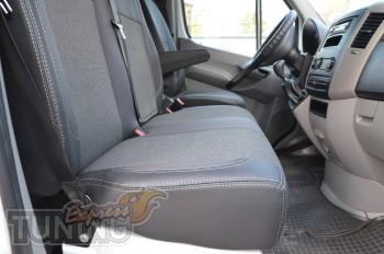 Чехлы для автомобиля Мерседес Спринтер W906 (авточехлы на сидень