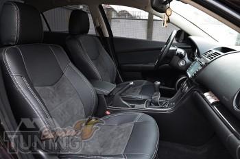 чехлы в салон Мазда 6 2 (чехлы Mazda 6 GH)