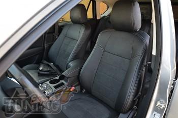 чехлы в салон Мазда СХ-5 с 2015 года (чехлы Mazda СХ-5 FL)