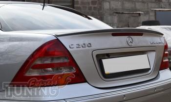 Спойлер сабля на багажник Mercedes W203 седан