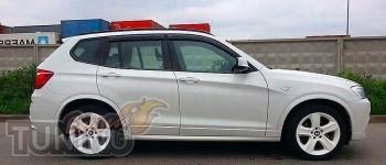 Ветровики БМВ Х3 Ф25 (дефлекторы окон BMW X3 F25)