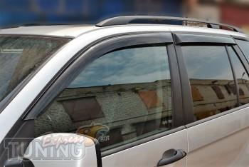дефлекторы окон BMW X5 E53 (дефлекторы окон )