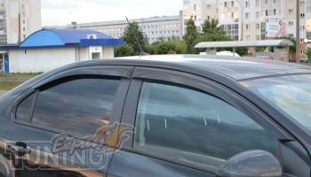 Ветровики Шевроле Авео Т250 (дефлекторы окон Chevrolet Aveo T250