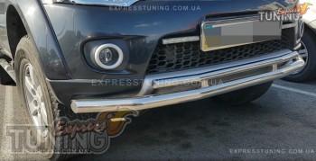защитная дуга бампера Mitsubishi Pajero Sport 2)